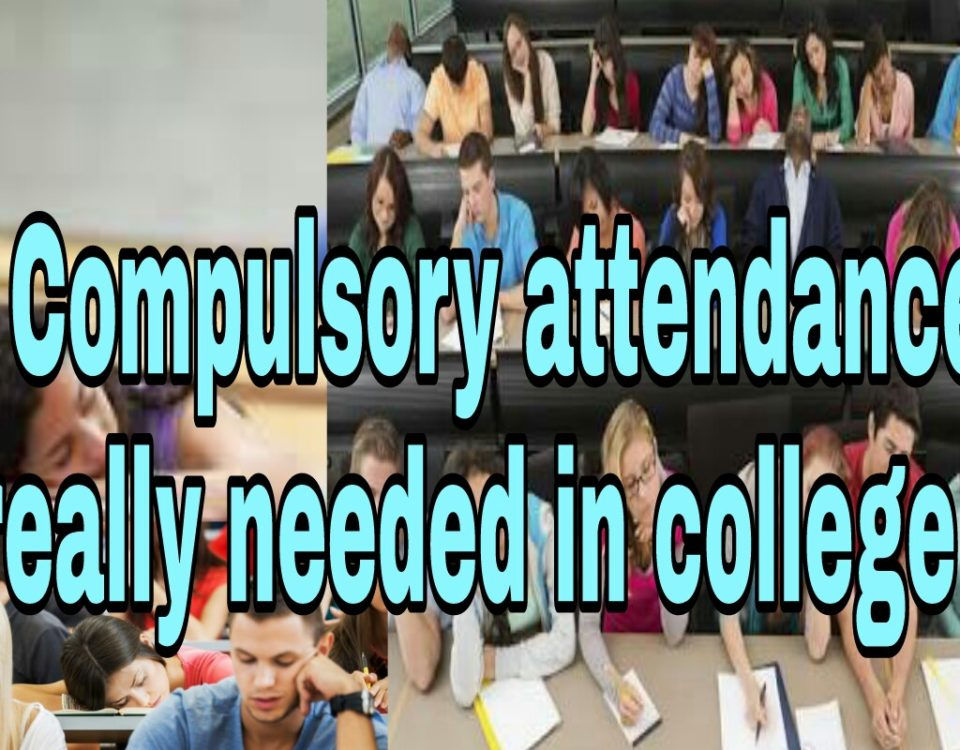 Is compulsory attendance really needed in college?