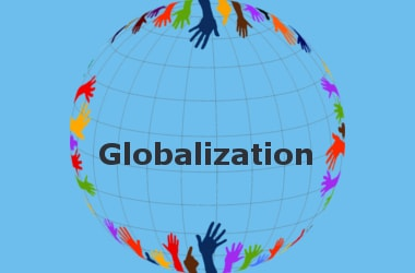 Due to globalisation the world has