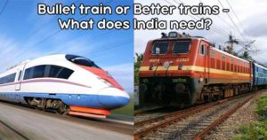 Bullet train or Better trains