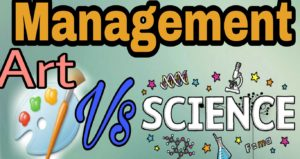 Is management an art or science