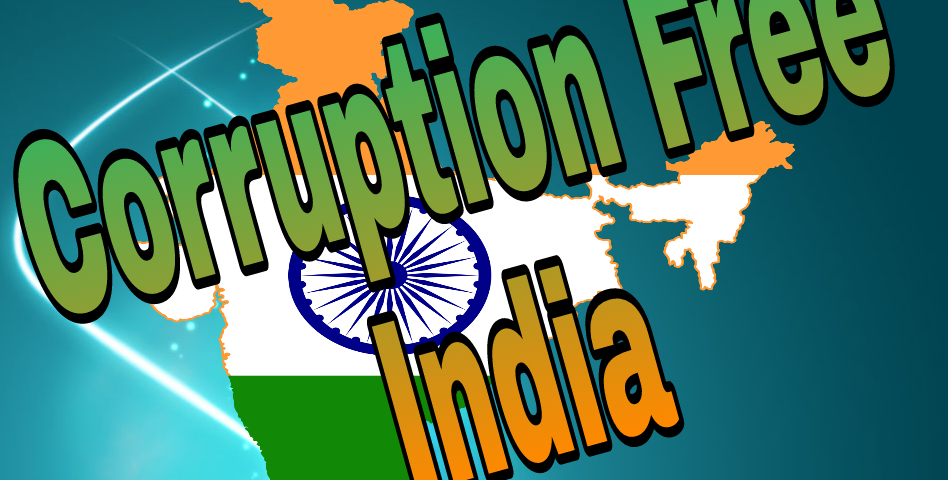 Where is the corruption free India