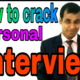 How to crack personal interviews for Fresher's?
