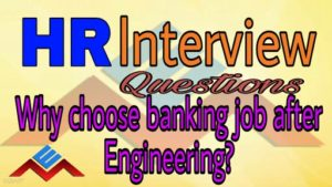 why choose bank job after engineering?