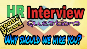Why should we hire you best answers for fresher