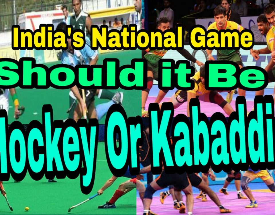 India's National Game: Should it Be Hockey Or Kabaddi