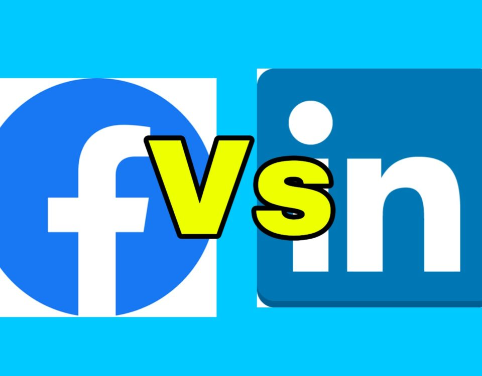 facebook vs linkedin- what's the difference